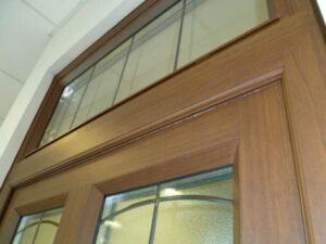 Authentic wood grain finishes in aluminium.