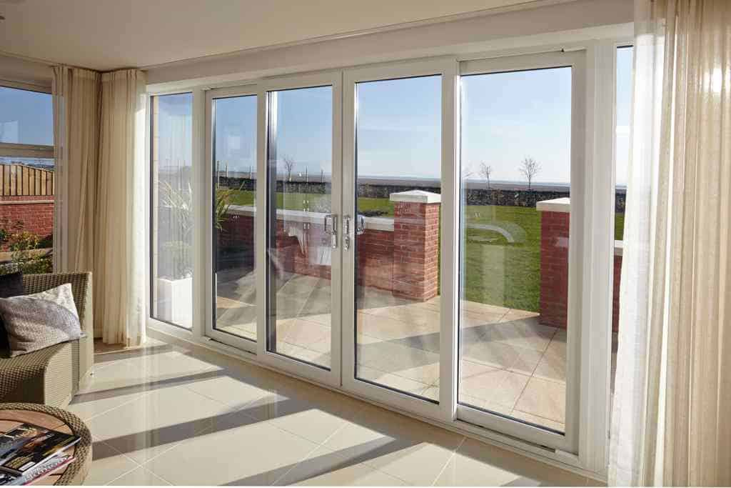 aluminium sliding patio doors newlite