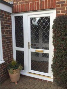 Our range of quality PVCu entrance doors are stylish, durable, long lasting and affordable.
