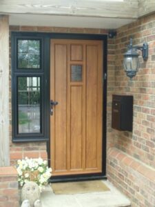 Our aluminium front doors can be custom designed for your own home and style. & Aluminium Entrance Doors - Newlite pezcame.com