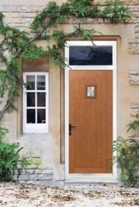 Huge colour choices and glass options including authentic looking woodgrain doors.