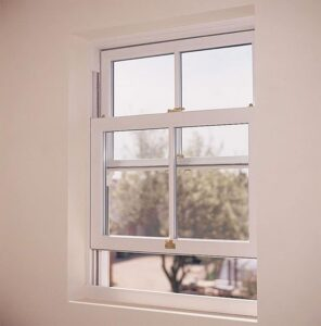 sliding window in a home.