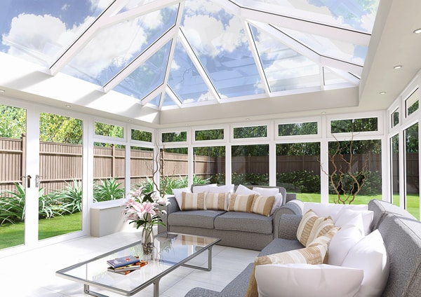 The slimmest and strongest aluminium roof on the market. for maximum light.