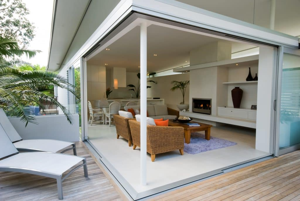 Schuco sliding patio doors